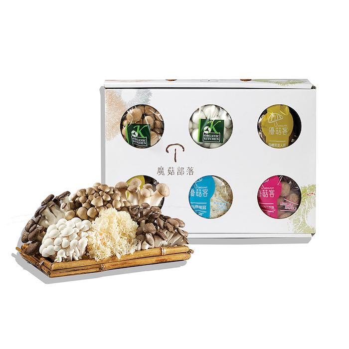鮮採菇六入禮盒